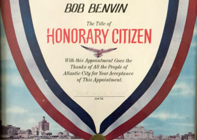 Honorary Citizen